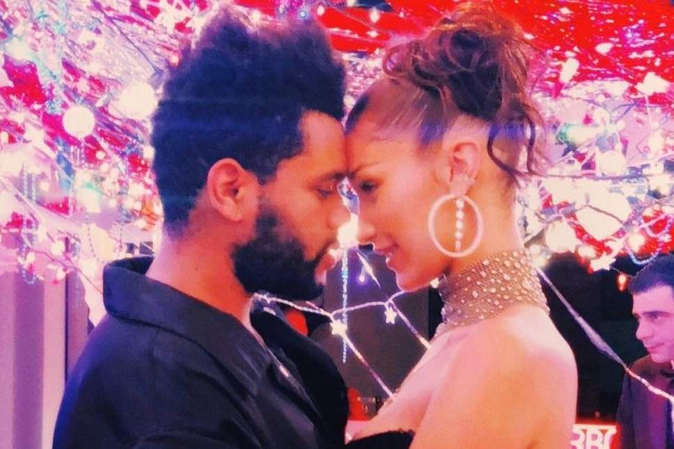 The Weeknd and Bella