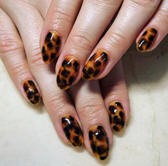 tortoise shells nails