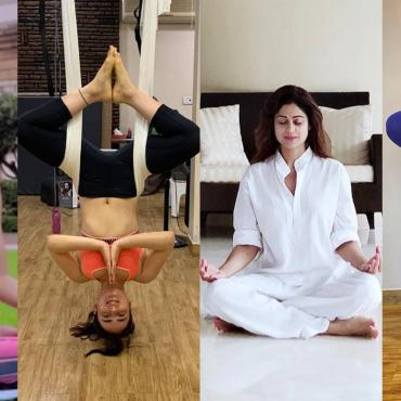Bollywood Actress Who Do Yoga