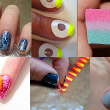 Pinterest Nail Art For Short Nails The Brunette Diaries