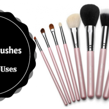 different types of makeup brushes and its uses