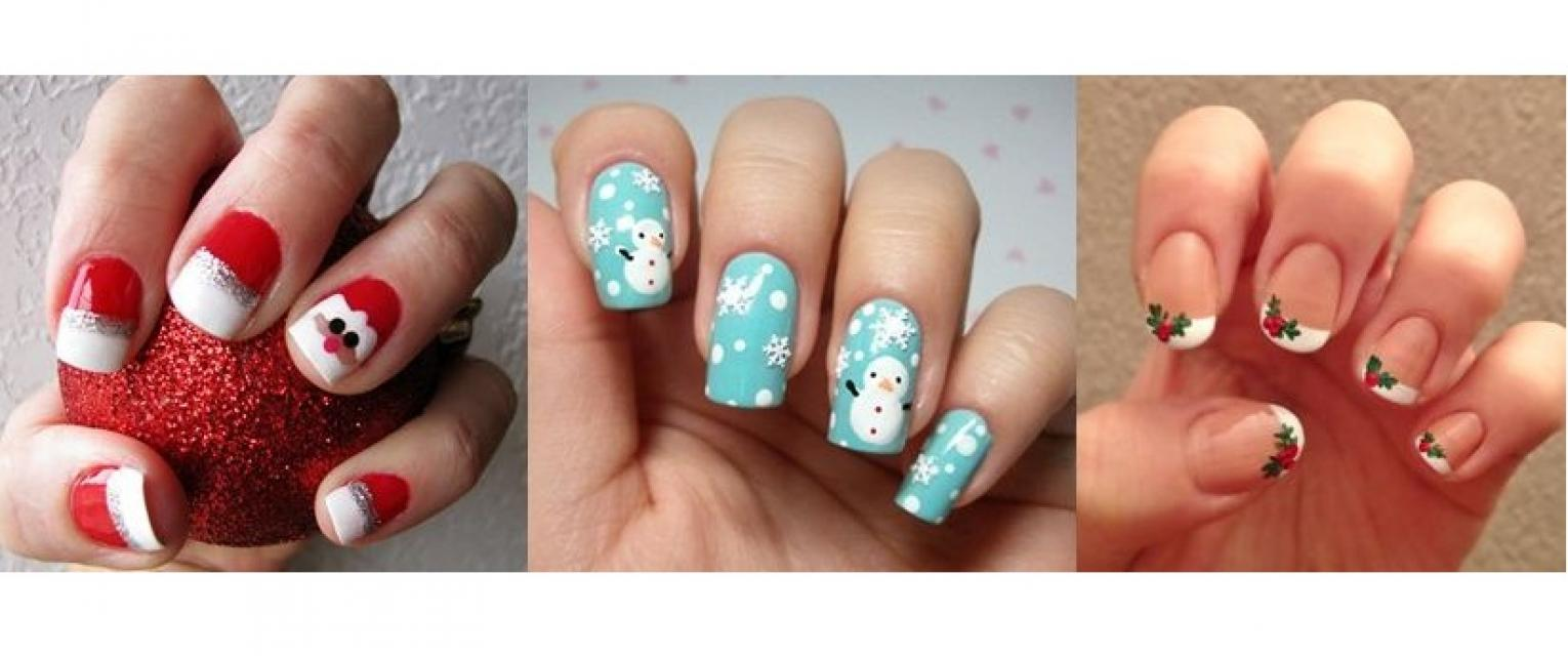 Christmas Theme Nail Art To Try Today! | The Brunette Diaries
