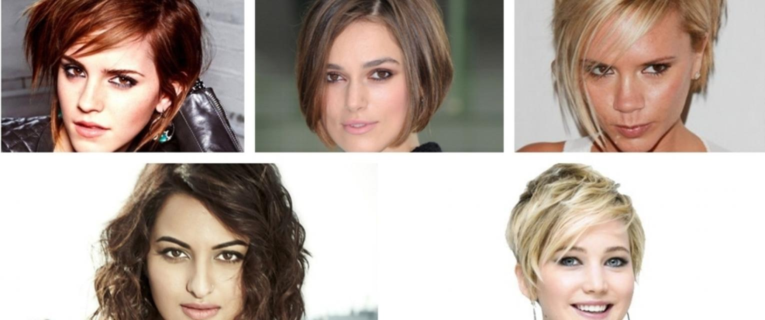Short Hairstyles For Different Face Shapes The Brunette Diaries