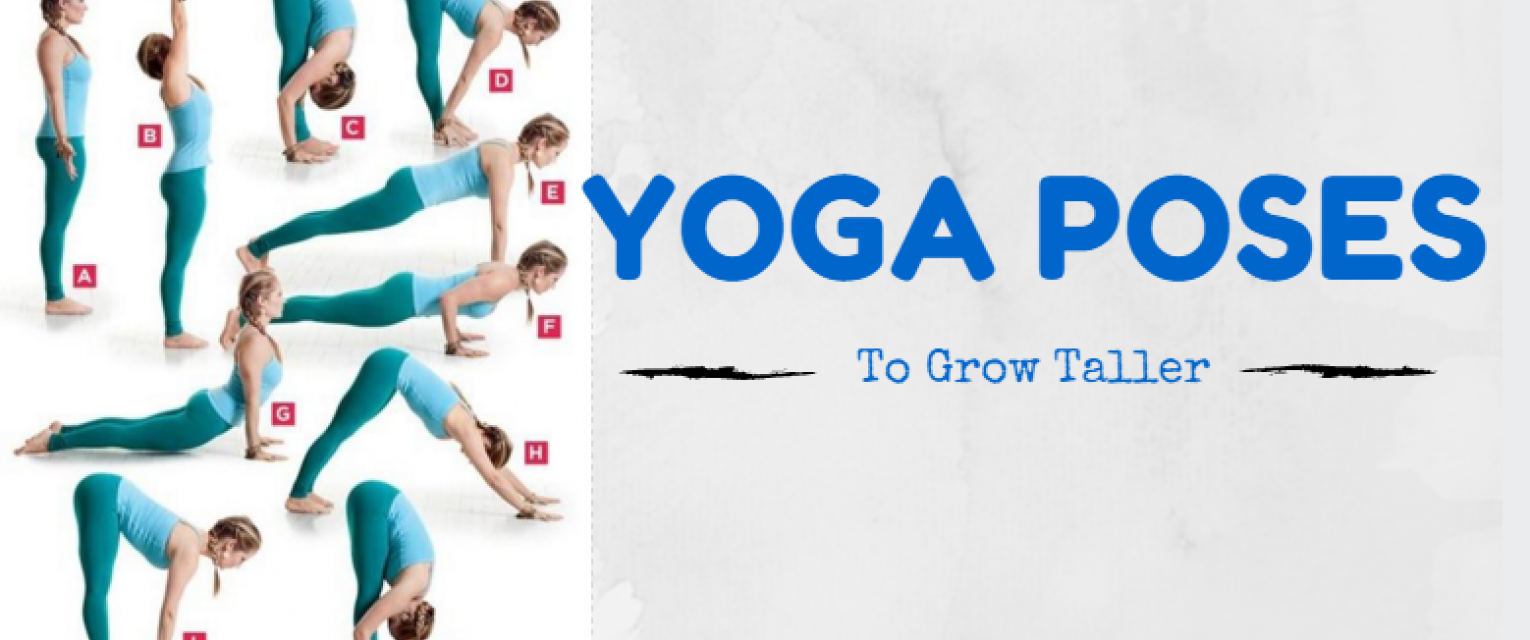 5 Yoga Poses That Can Help You Grow Taller