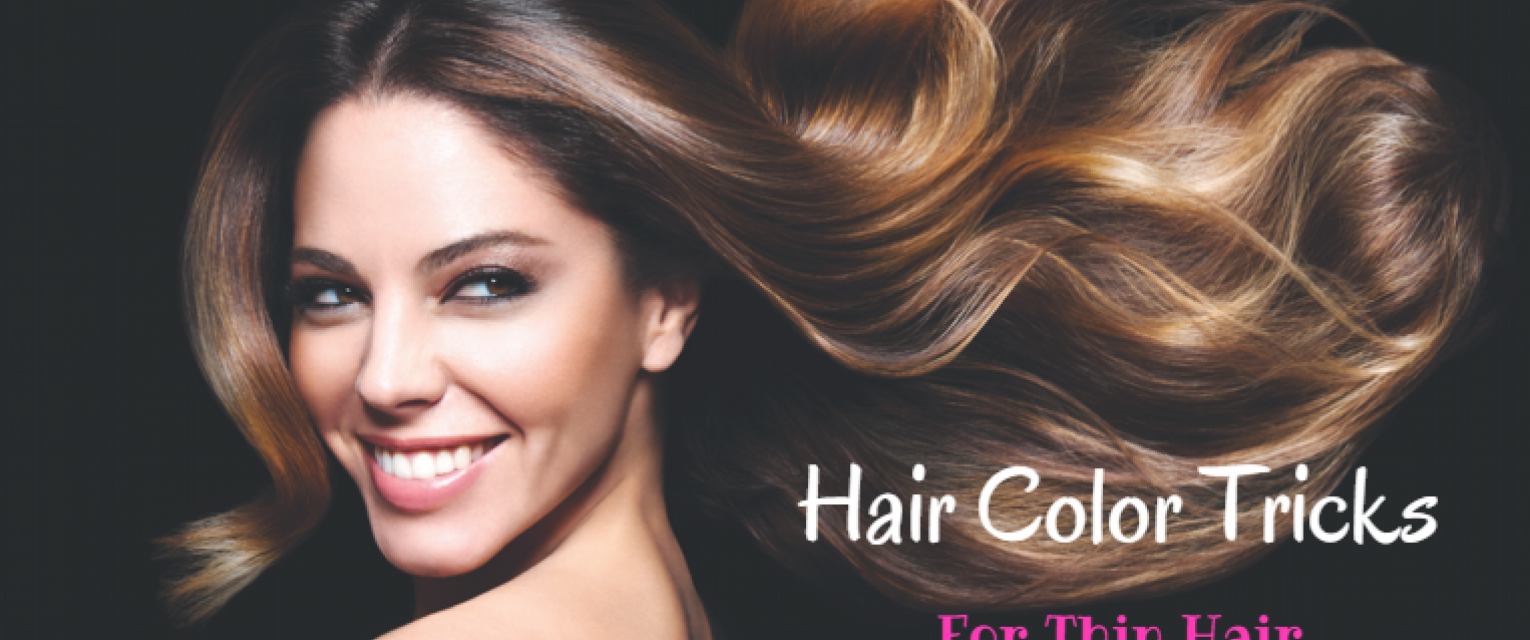 Hair Color Tricks To Make Thin Hair Look Bouncier | The Brunette Diaries