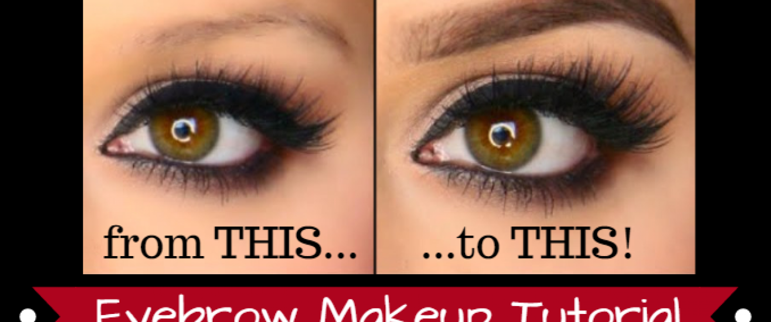 Make Eyebrows Look Thicker With This Makeup Tutorial The Brunette