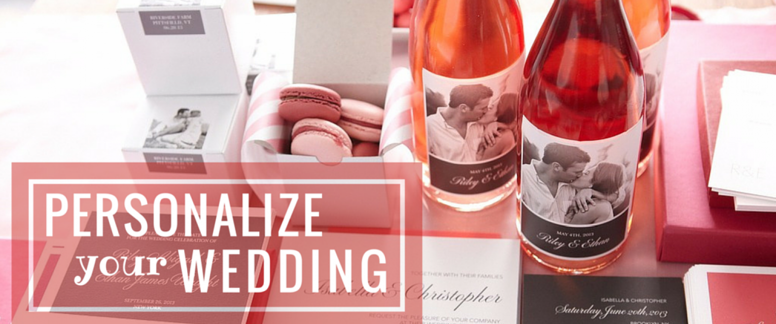Personalize Your Wedding To Add A New Dimension To It! | The ...