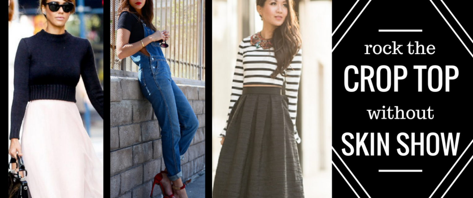 34c00bcdf TBD's Guide To Styling The Crop Top Without Showing Stomach | The Brunette  Diaries