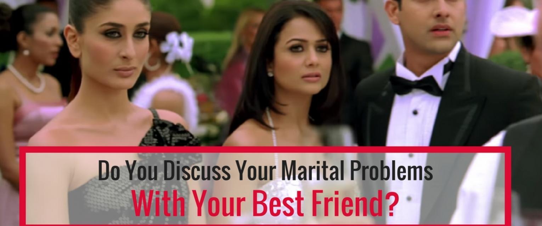 Husband confides in female friend