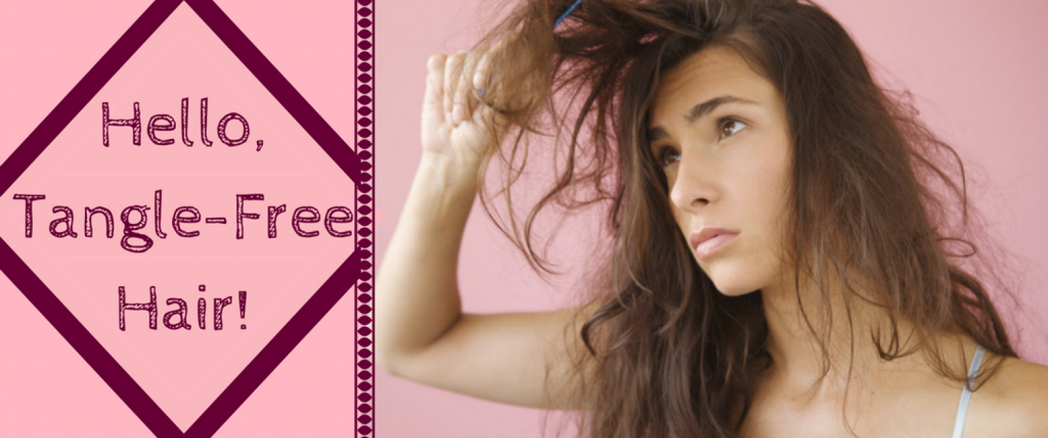 prevent long hair from getting tangled with these tips the