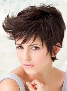 Pixie cut looks fashionable and chic