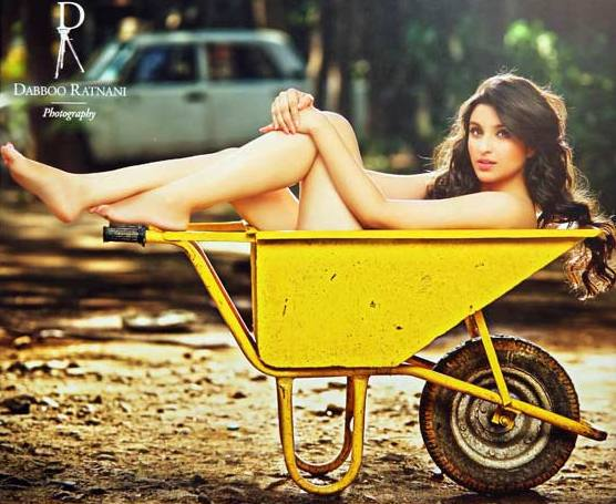Parineeti Chopra in Dabboo Ratnani calendar