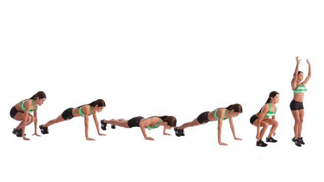 The sequence of Burpee