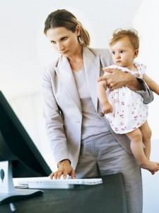 Will you be able to balance your work and baby without affecting either?
