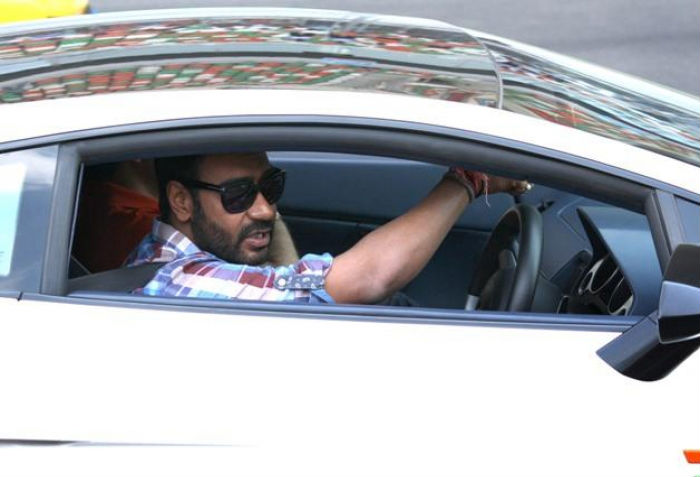 Ajay Devgn luxury car