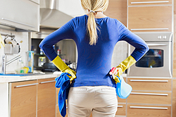 Let keeping your kitchen clean be at the top of your agenda