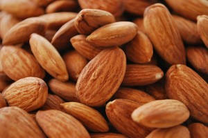 Almonds are a great source of dietary fibre