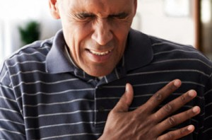 Chest pain is a symptom of heart attack