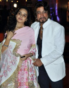 Shakti Kapoor and Padmini Kolhapure