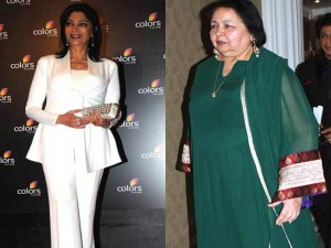 Simi Garewal and Pamela Chopra