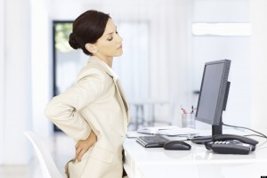Sitting for long hours can cause back problems