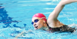Swimming helps in weight loss