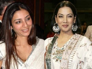 Tabu and Shabhana Azmi