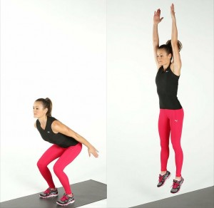 Two- third jump squat