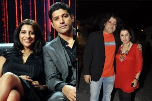 farhan and Zoya with Sajid and Farah Khan