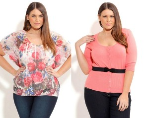 Fashion for plus sized women