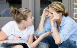Arguing with a stubborn child may make matters worse