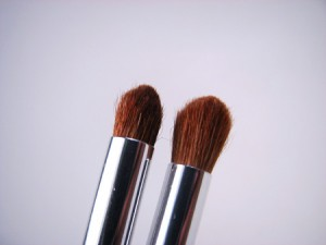 Blending eye brushes