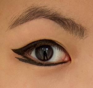 Double winged kohl looks absolutely stunning on Asian eyes
