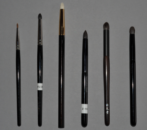 Pencil eye brushes