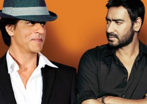 SRK and Ajay Devgn fight