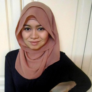 Simple everyday hijab style