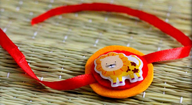 Lion rakhi for your younger brothers
