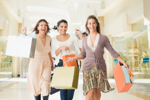Shopping with friends makes us feel much better about ourselves (Img source - getty images)
