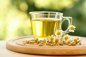 Chamomile tea is a great home remedy for curing eczema