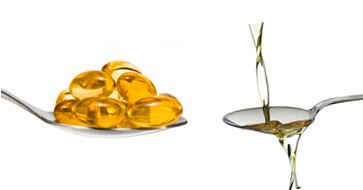 Cod liver oil supplements and coconut oil are known to cure symptoms of eczema like irritation and itchiness