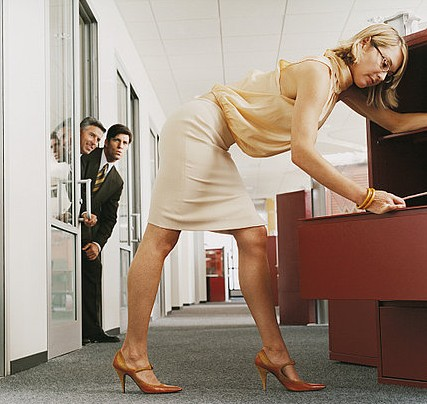 Avoid wearing revealing clothes at work, it only calls for trouble
