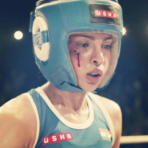 Mary Kom Priyanka swollen face