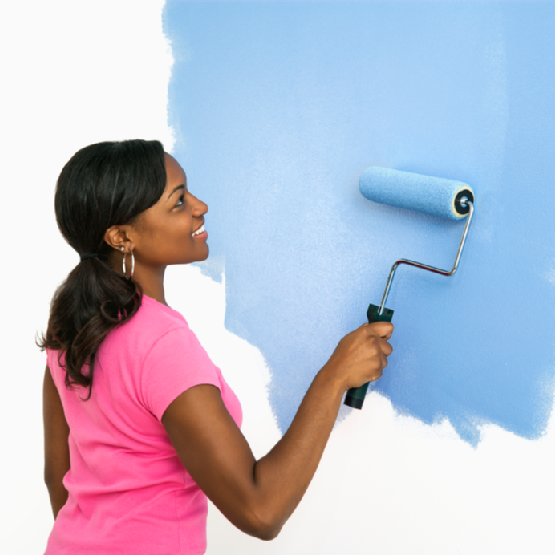 Paint your walls yourself