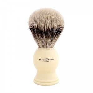 A badger brush is an essential for a good clean shave