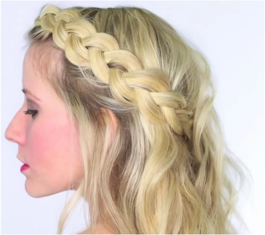 Four Headband Braids Is A Tutorial That Will Teach You How To Do French Braid