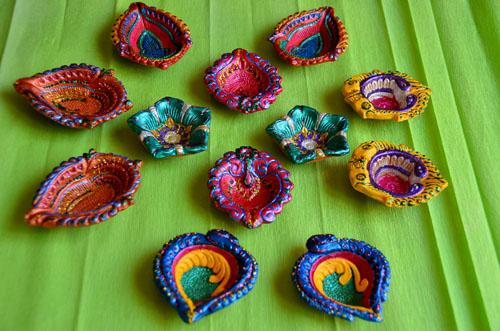 diy diya decoration for diwali the brunette diaries