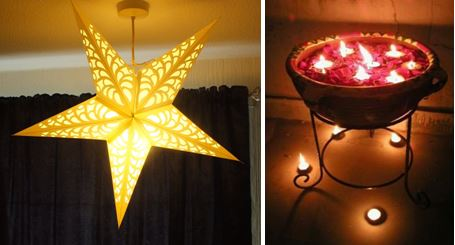 Decorate your living room with lanterns and t-lightsDecorate your living room with lanterns and t-lights