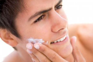 Moisturize your face after shaving