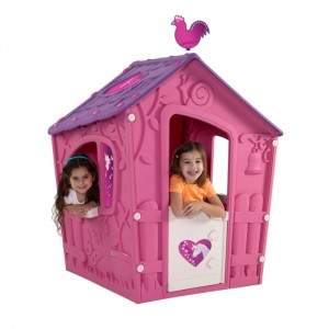 A Barbie play house is perfect to keep your tiny princess busy for hours
