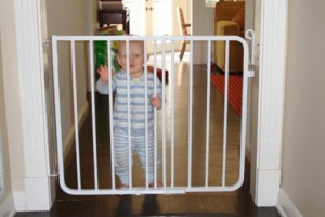 Safety gates keep your baby from hazardous and harming situations